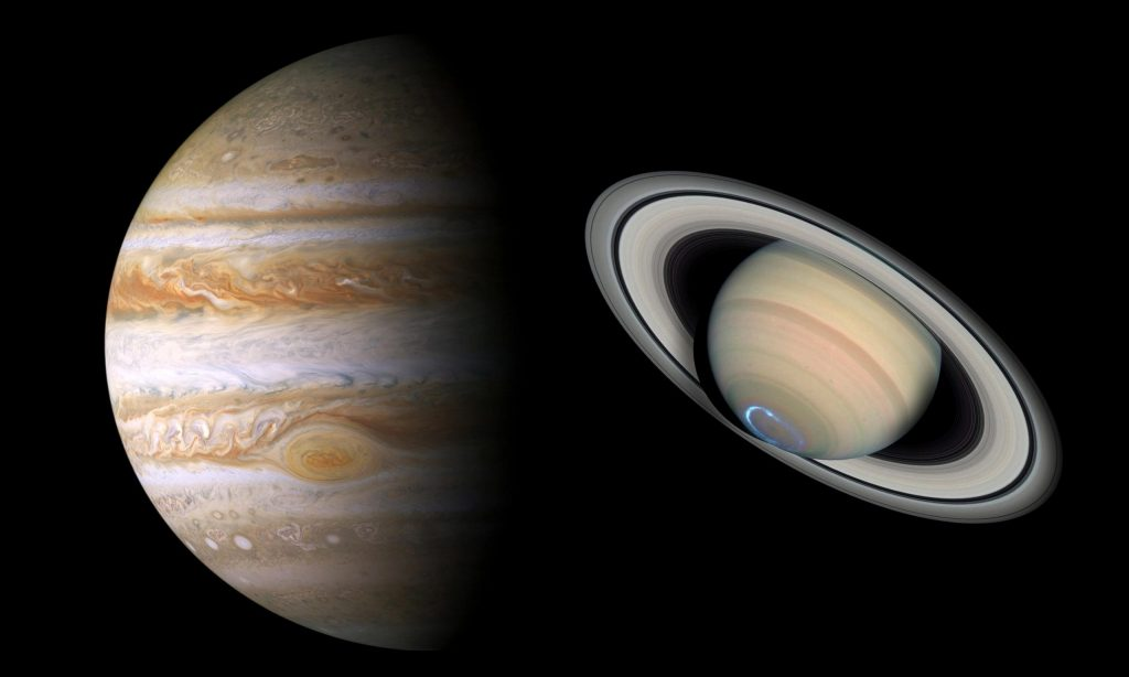 Jupiter, Saturn will look like a double planet for the first time since the Middle Ages