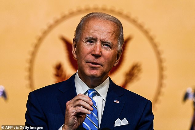 Joe Biden wins the popular vote in Pennsylvania, which gives him the state's 20 electoral votes