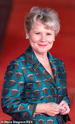 Actors Imelda Staunton (pictured), Jonathan Price, and pop star Ellie Goulding are actually slated to appear in the Christmas Streaming Pageant on December 25.
