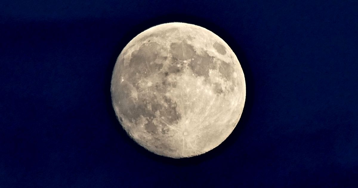 Full Beaver Moon will appear tomorrow morning – best time to see it from the UK