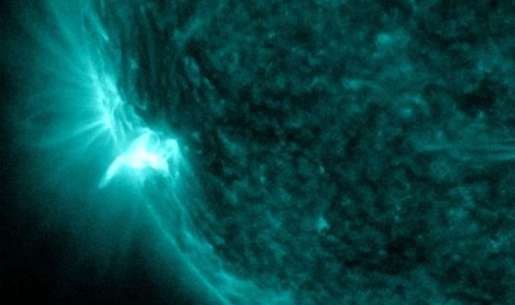A huge solar explosion stops radio communications on Earth – Video |  Science |  News