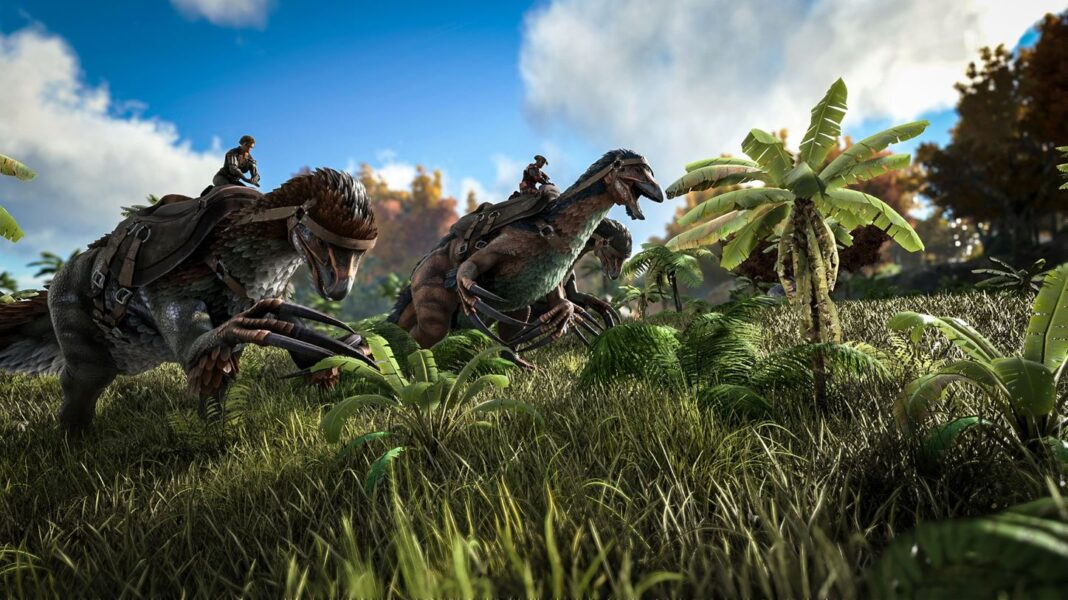ARK Survival Evolved is free