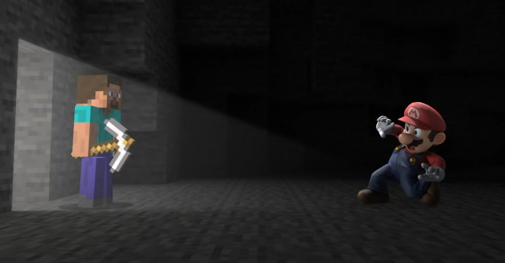 Adding Minecraft music was Sakurai's biggest challenge in making Smash Bros.
