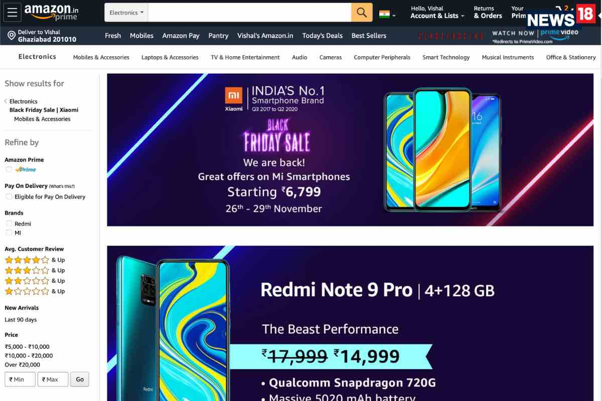 Amazon has some great smartphone deals with Xiaomi, OnePlus, and Samsung