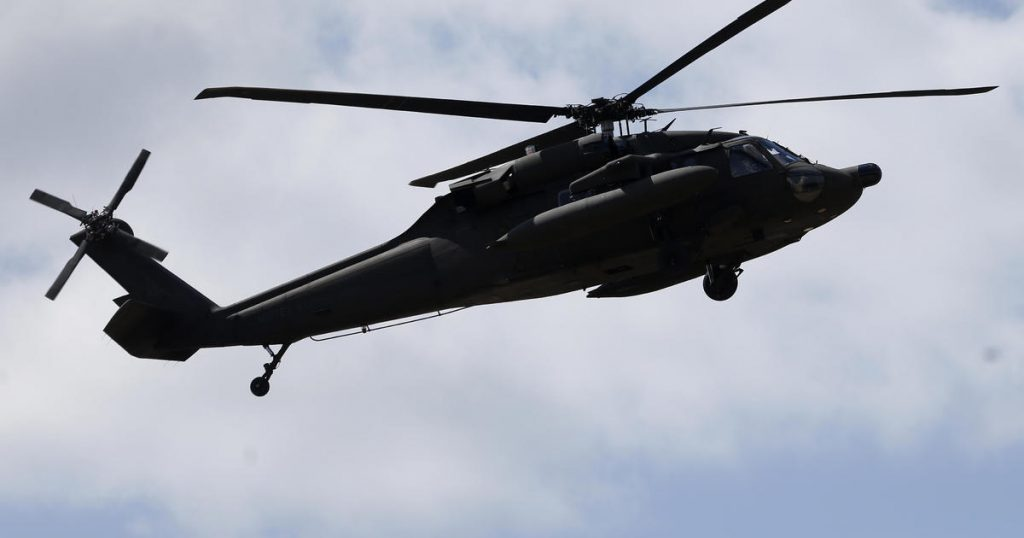 An Egyptian helicopter crashes 6 Americans out of 8 peacekeepers