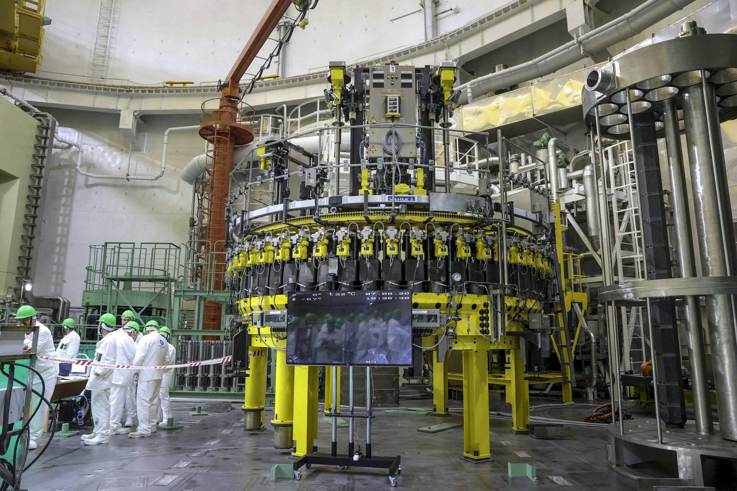 Belarus inaugurates its first nuclear plant;  Lithuania is afraid