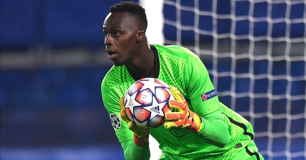 Black goalkeepers and Europe's unequal stadium