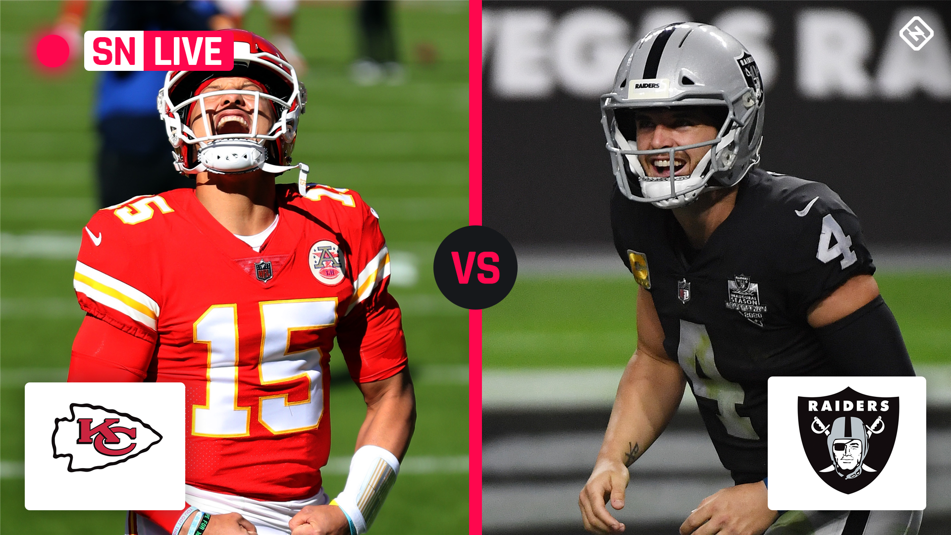 Chiefs vs. Live Scores.  Raiders, Updates, Highlights from Sunday Night Football Game
