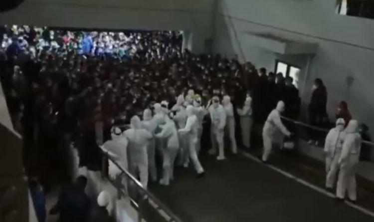 China News: Coronavirus panic at Shanghai airport as it forced thousands into quarantine    The world    News