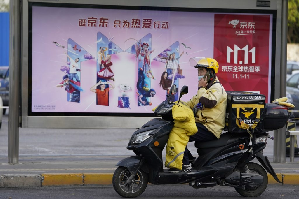 China is preparing for the largest online shopping festival in the world