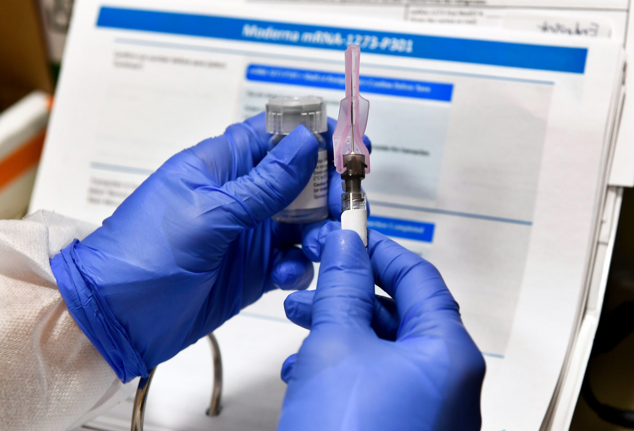 Covid news live: latest case where the UK ordered 5 million doses of Moderna vaccine