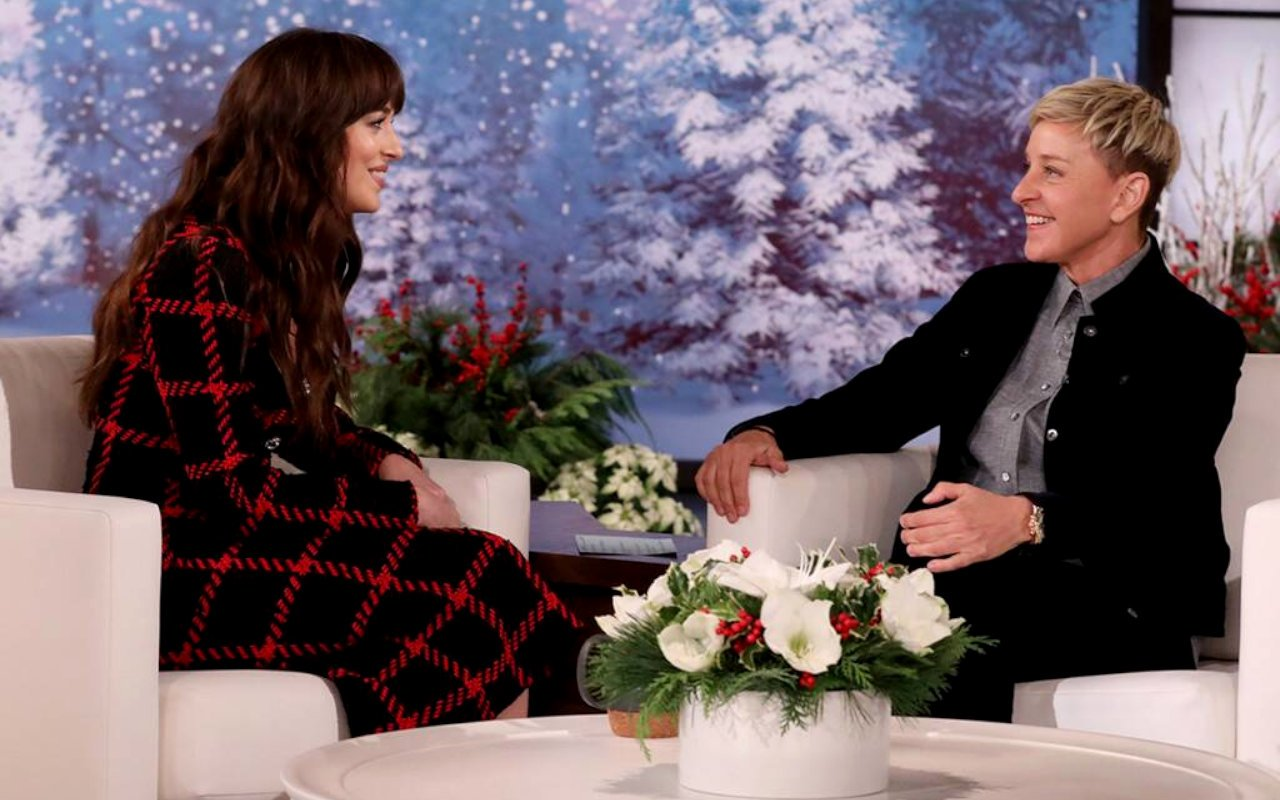 Never Forget Dakota Johnson's Awkward AF Ellen DeGeneres Interview