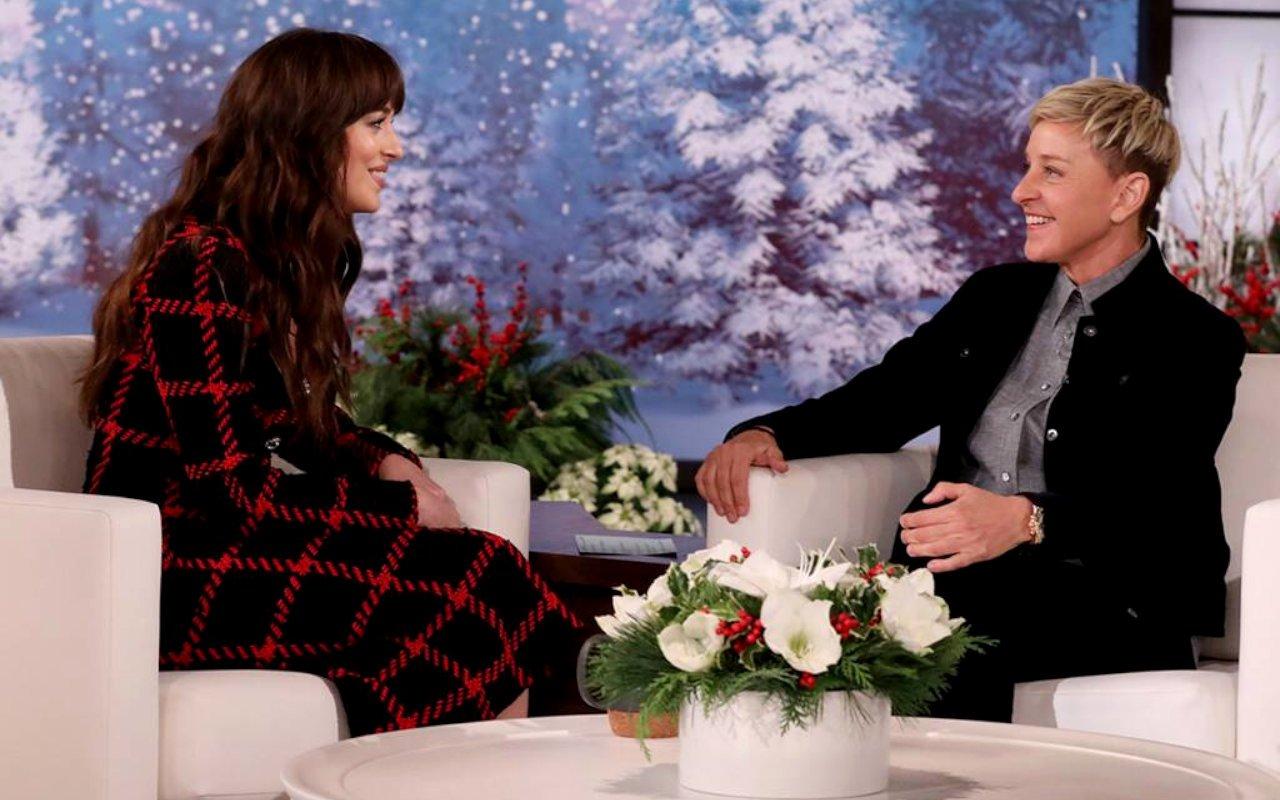 "Dakota Johnson praised ""destroying"" Ellen DeGeneres a year ago"