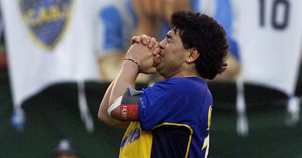 Diego Maradona, the most immortal