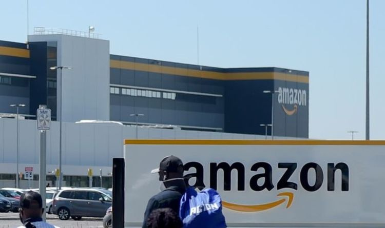 Fire at Amazon Warehouse: Firefighters grapple with a massive fire as entire building evacuates | United Kingdom | News