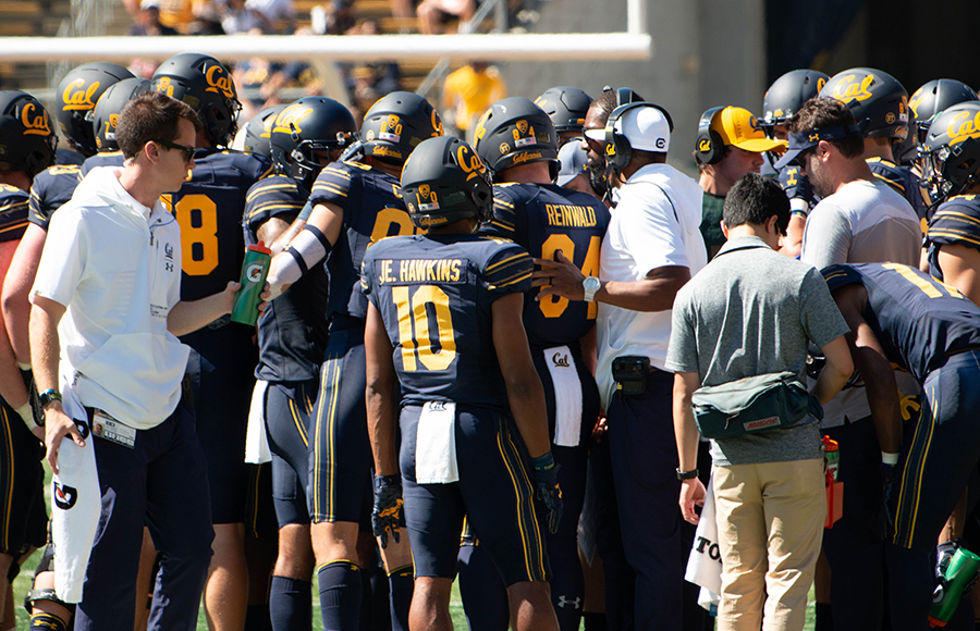 Football Cal is played without essential defensive elements at UC