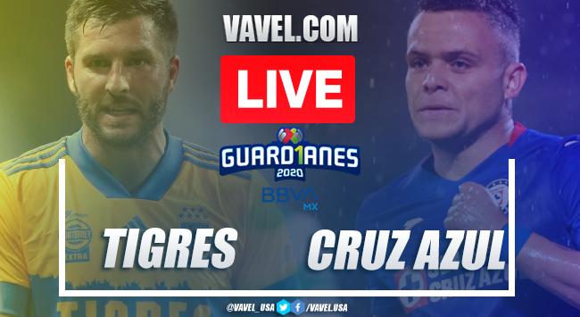 Goals and Highlights: Tigress 1-3 Cruz Azul in Liga MX 2020 |  11/26/2020