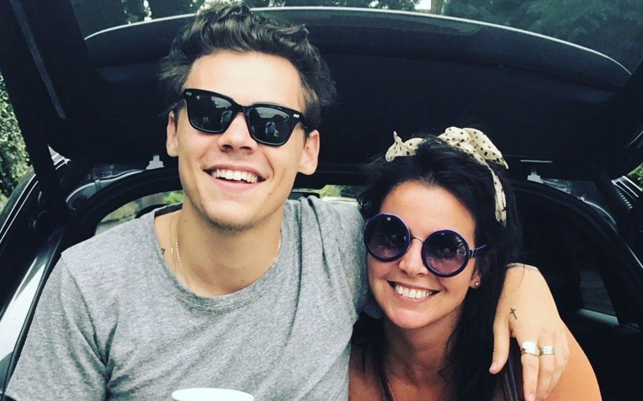 Harry Styles defended his mom after he was criticized for wearing dresses
