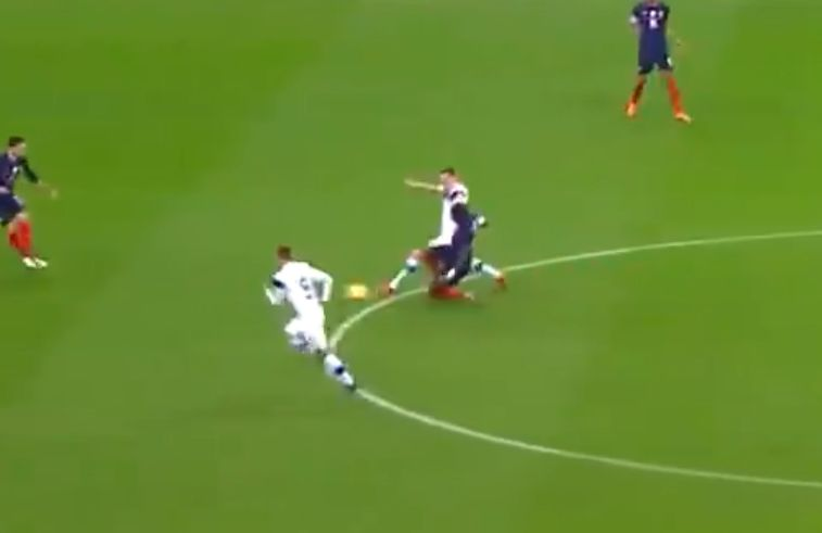 Marcus Force France goal against Finland 0-1