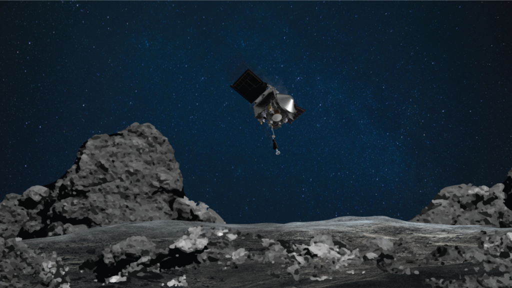NASA's spacecraft is taking much more asteroid samples than expected