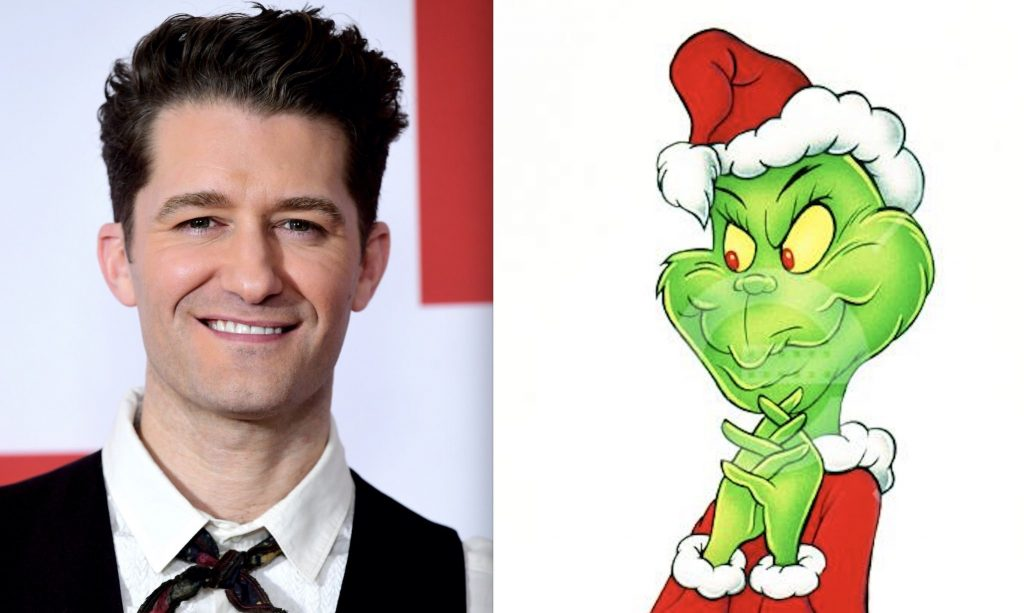 NBC puts Matthew Morrison in Dr. Seuss 'The Grinch Musical!' As the newest theatrical holiday event