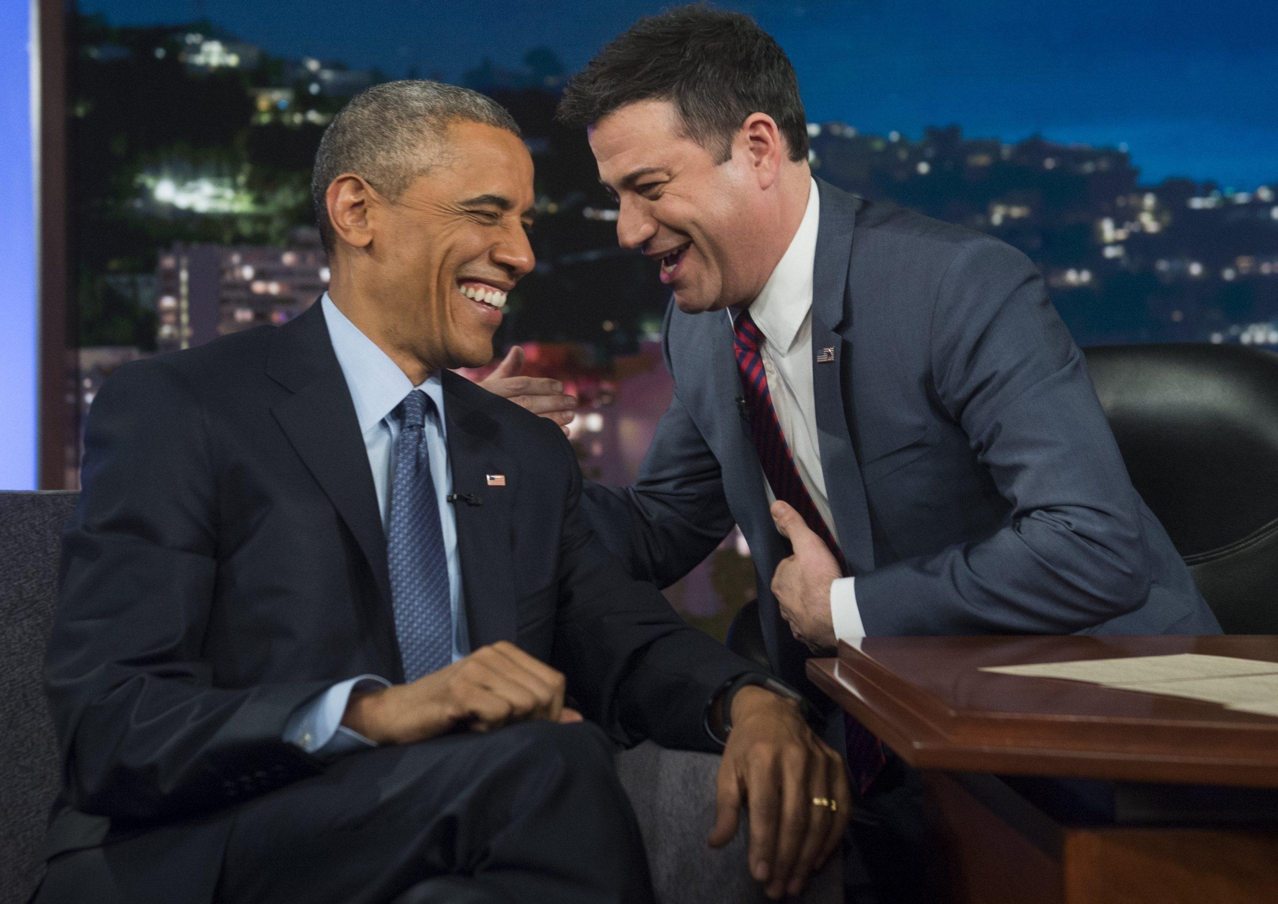 Navy Obama stamp Trump White House Kimmel
