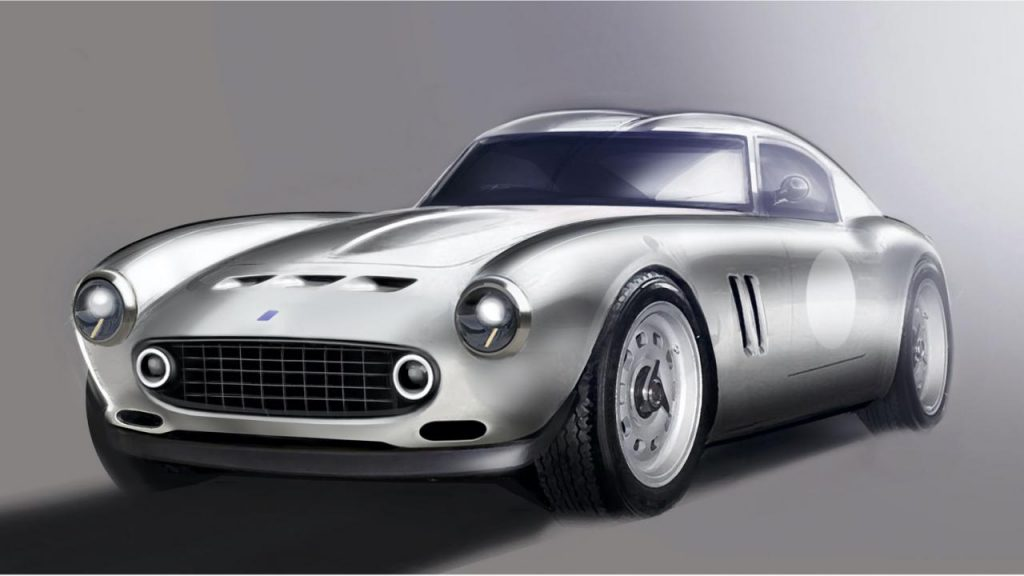 Our GTO Engineering modern will be a V12 sports car inspired by the 1960s