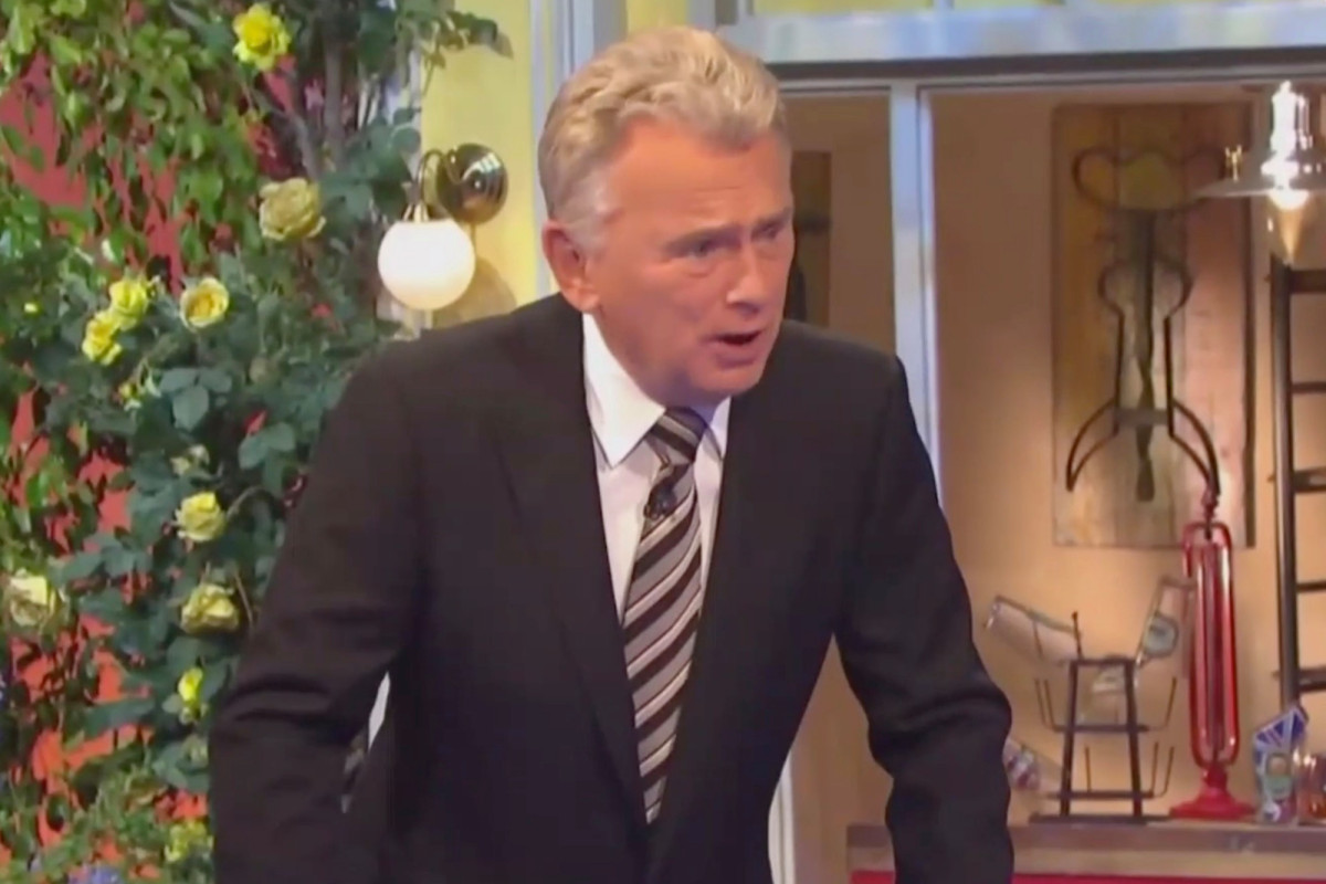 """Pat Sajak is getting heated by the """"ungrateful"""" contestant's rift."""