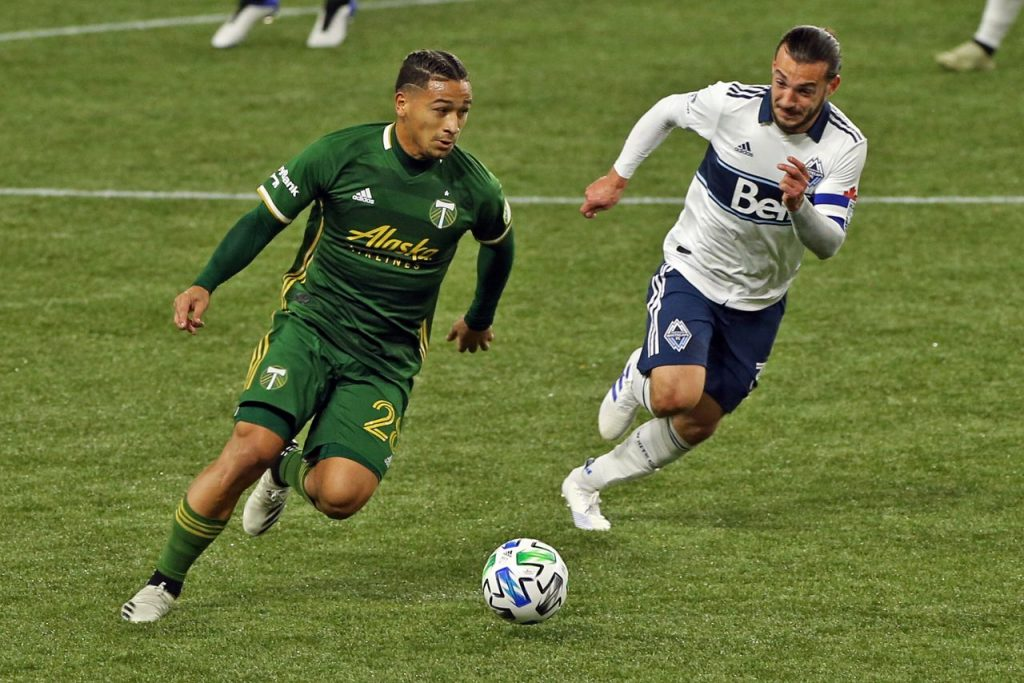 Portland Timbers are ranked first in the West after beating Vancouver Whitecaps with one week remaining in the regular season in the Major League Soccer.