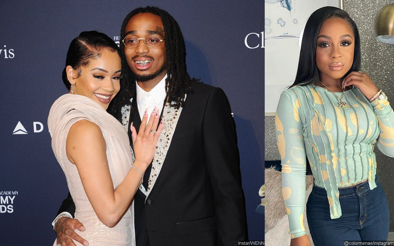"Quavo Shuts Down ""Crazy"" Rumors Accusing Him Of Cheating On Saweetie With Reginae Carter"