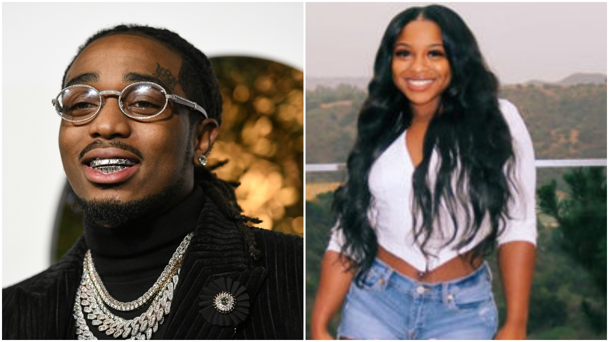 Quavo denies sleeping with Reginae Carter after a comedian asked him on Instagram Live