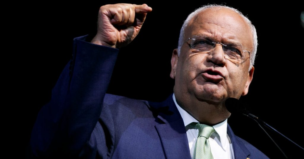 Saeb Erekat, the chief Palestinian negotiator, dies at the age of 65