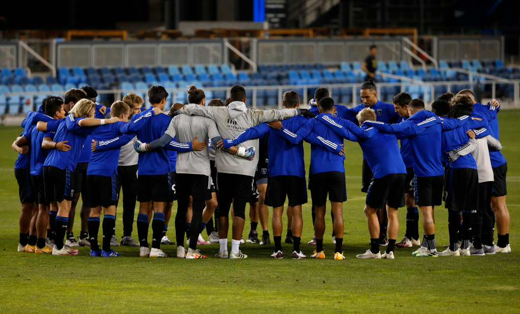 San Jose Earthquakes are heading to the NBA playoffs after losing a note
