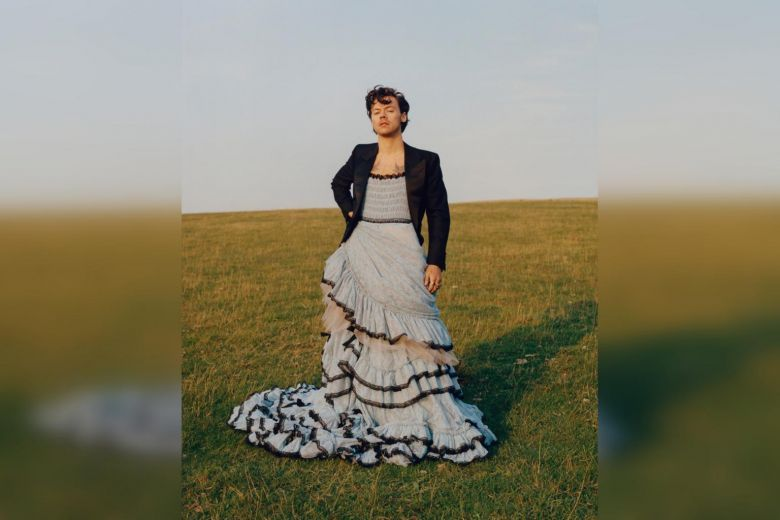 Singer Harry Styles first man to be on the cover of Vogue; Wearing a ball gown