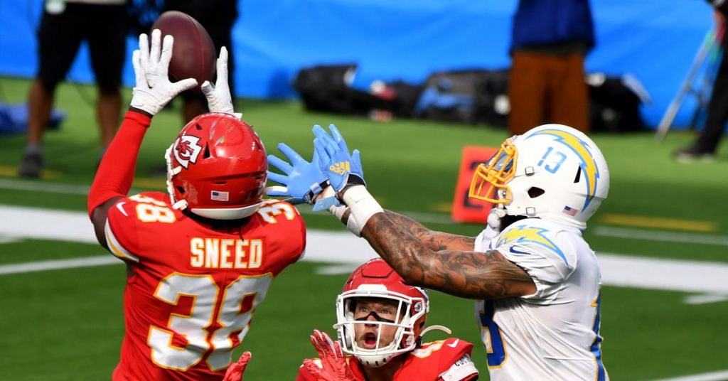 Sneed, Okafor and Hardman will be active Chiefs-Raiders