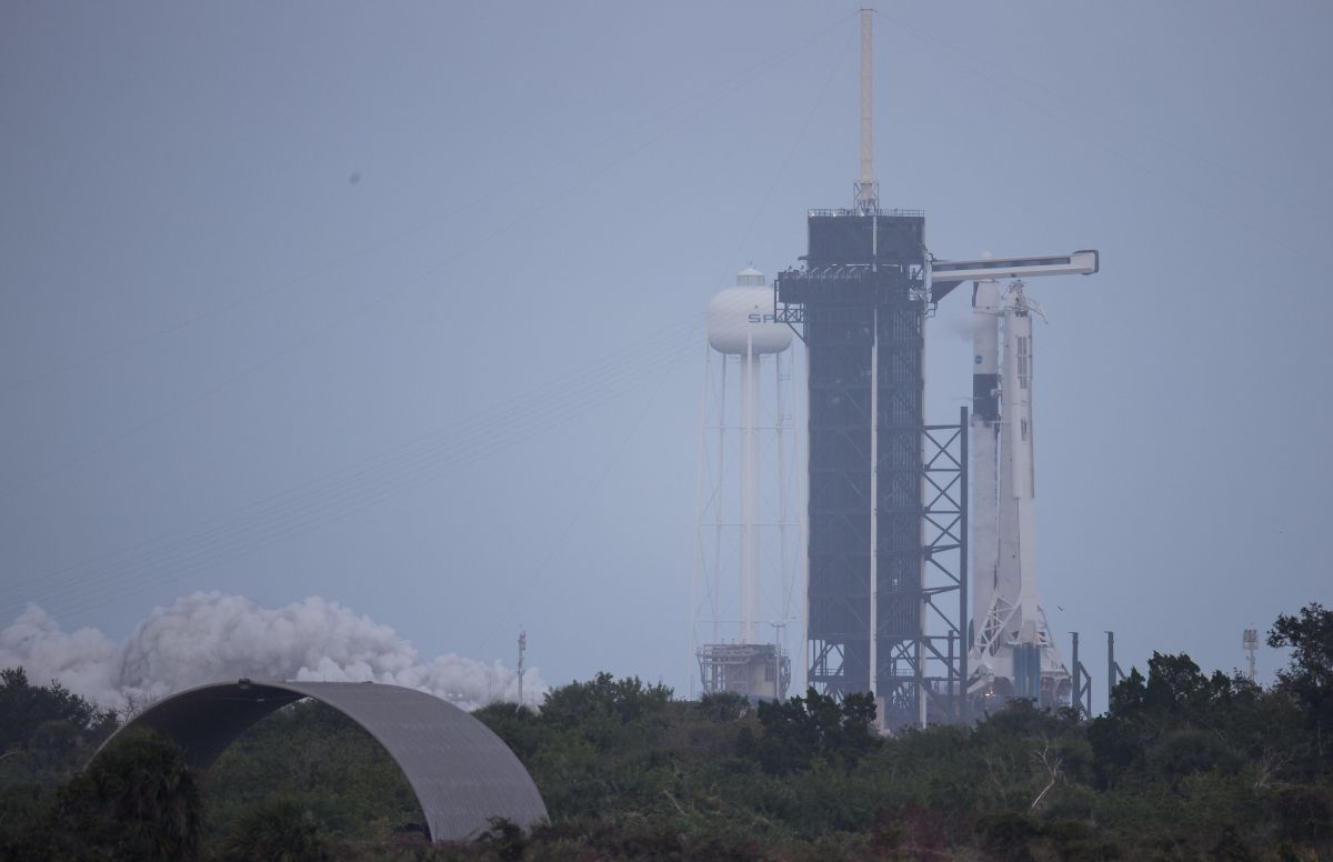 SpaceX has just test-fired a Falcon 9 rocket for an astronaut launch for NASA