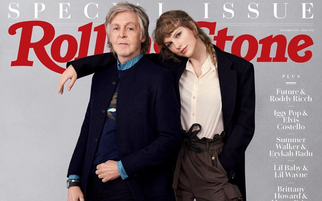 Taylor Swift enjoyed one of the best nights of her life messing around with Paul McCartney