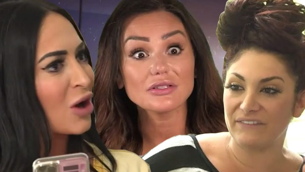 The Jersey Shore premiere reveals just how bad the situation is between JWoww, Angelina and Deena after the wedding