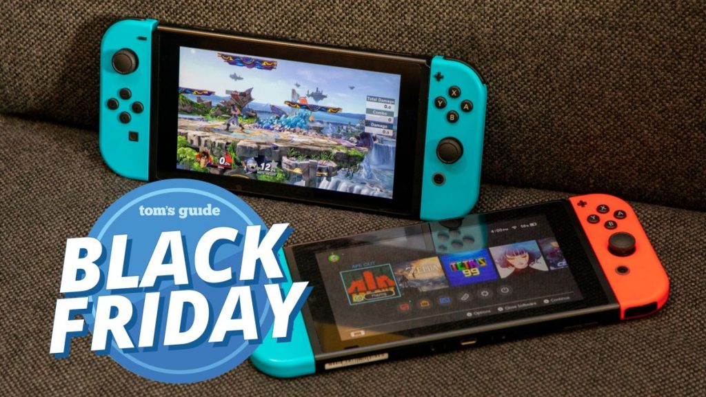 This Nintendo Switch Black Friday bundle gives you the hard-to-find console