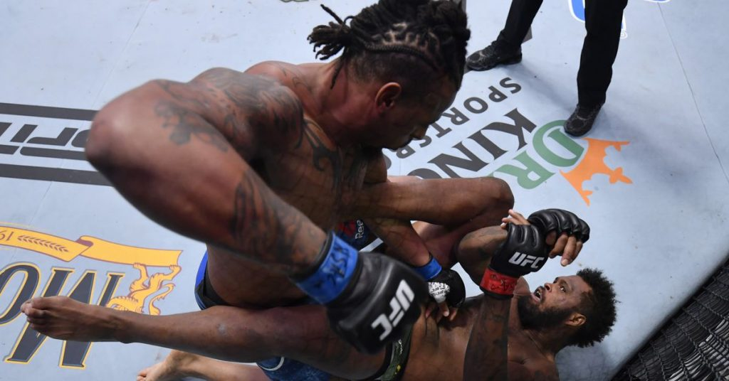 UFC Vegas 12 results: Greg Hardy hits Maurice Green in the second round of a halt
