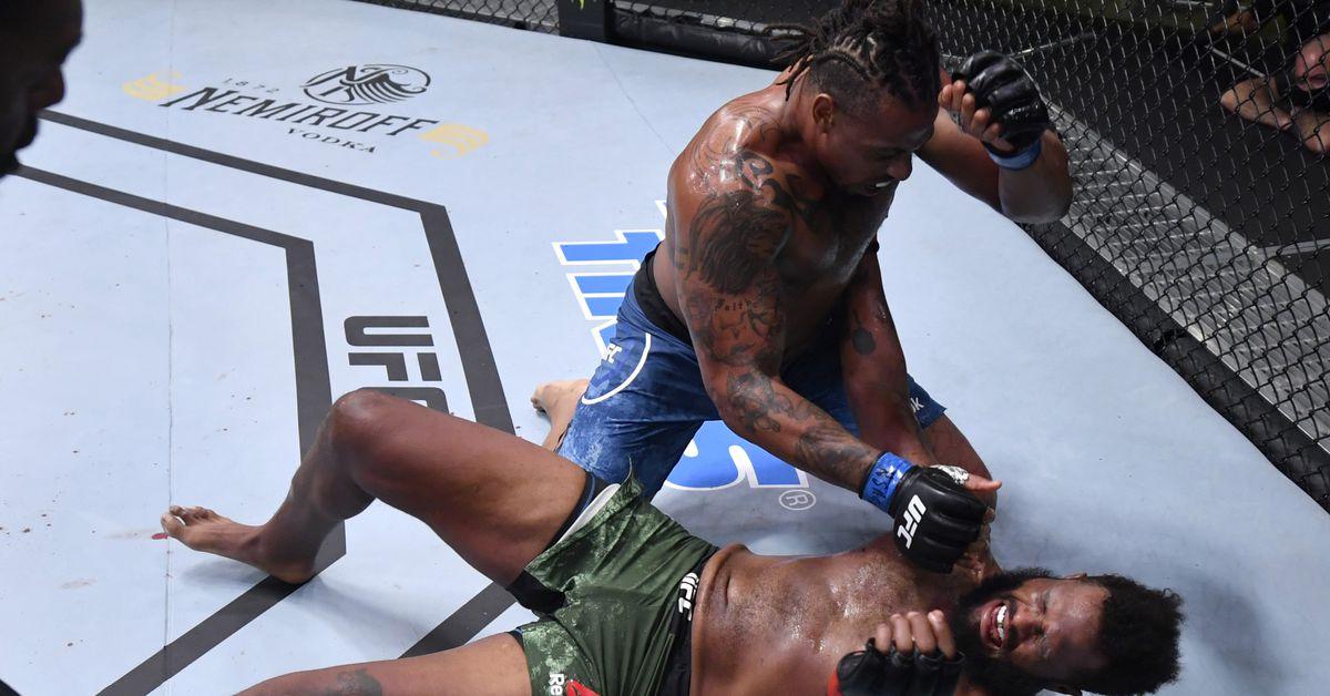 UFC Vegas results 12: Mitchell wins hard decision over Fili, Hardy TKO's Greene