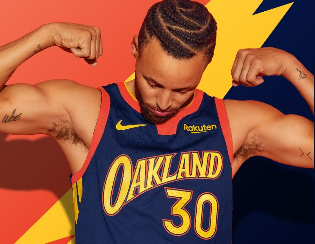 Warriors have Oakland-inspired shirts that are inspired by the Oakland style