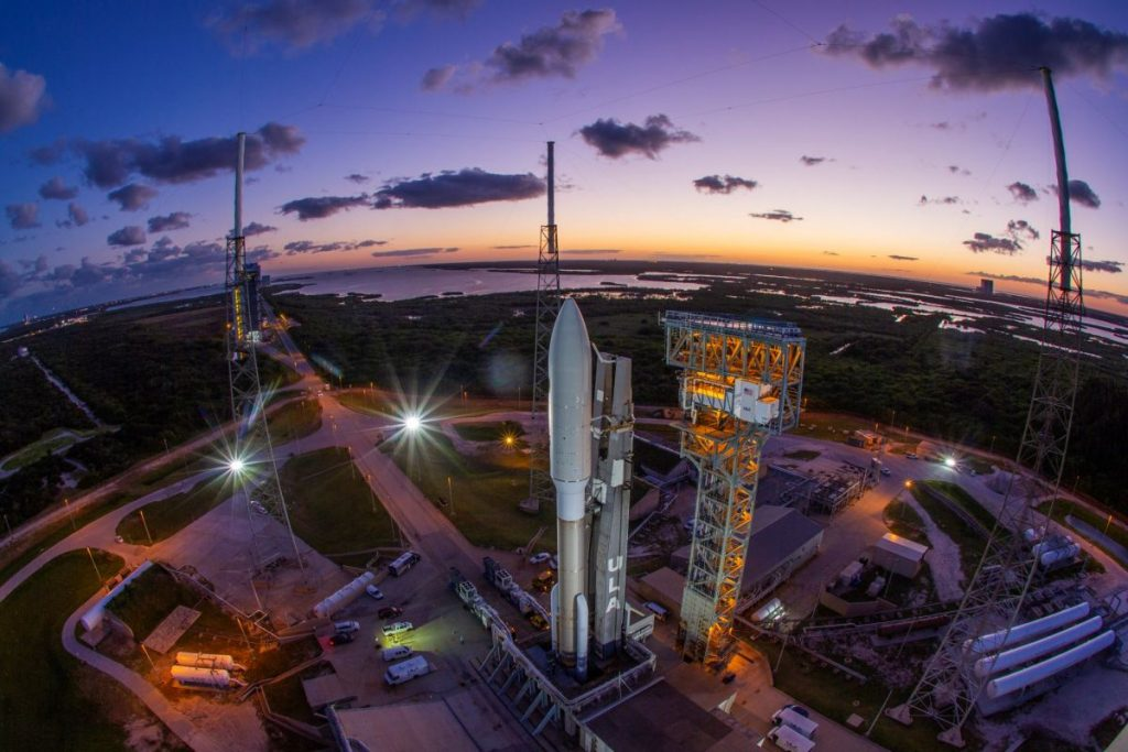 Watch the Atlas V missile launch a new American spy satellite tonight!