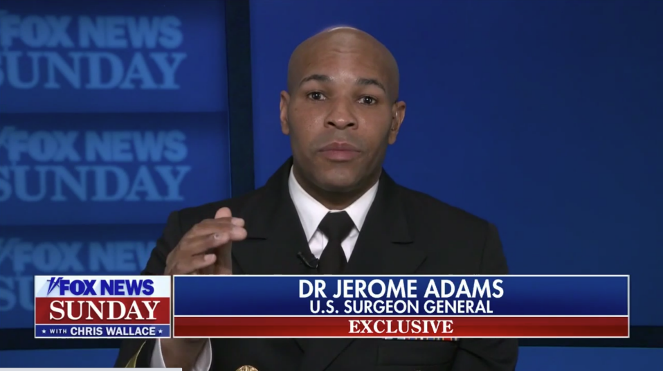 American Surgeon General Jerome Adams on Canal