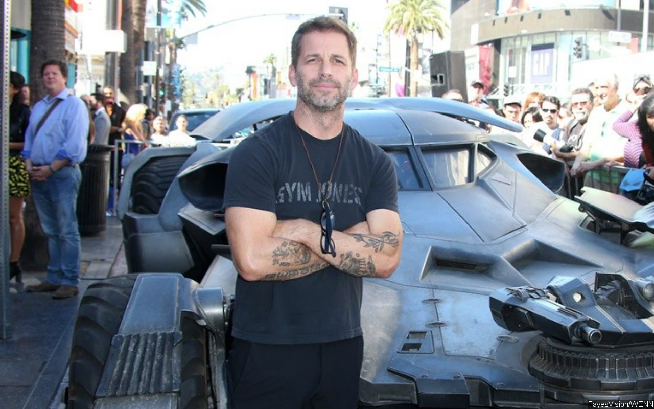 Zack Snyder is not associated with directing the series 'Justice League' despite speculation