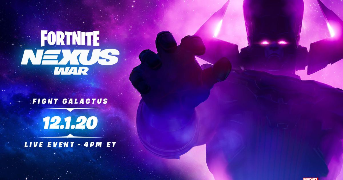 Galactus' invasion of Fortnite Season 4 happens today: Here's how to watch