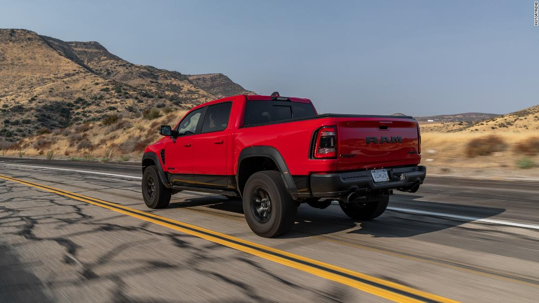 Ram 1500 TRX named MotorTrend Truck of the Year