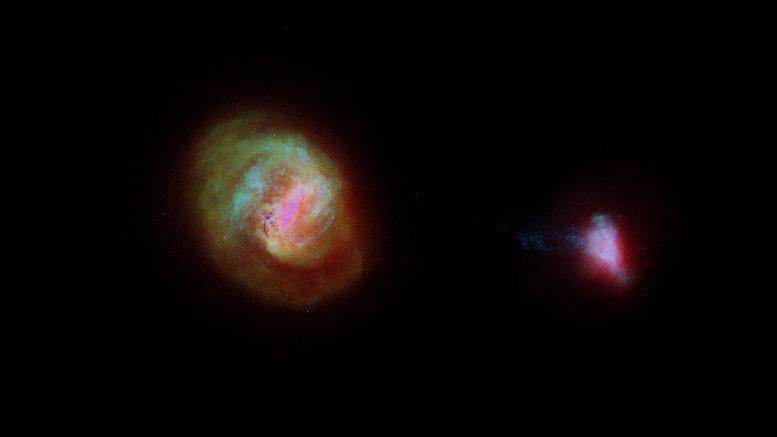 Gaya view of the neighboring galaxies of the Milky Way