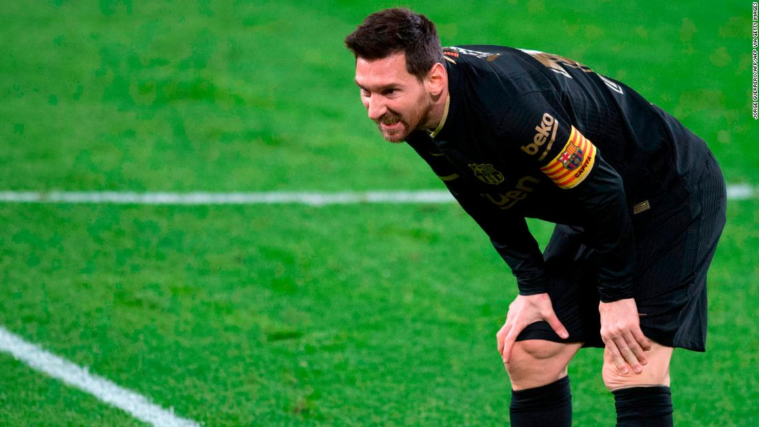 Barcelona suffered a surprise defeat by Cadiz