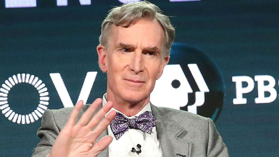 Bill Nye explains the importance of wearing masks in the viral TikTok
